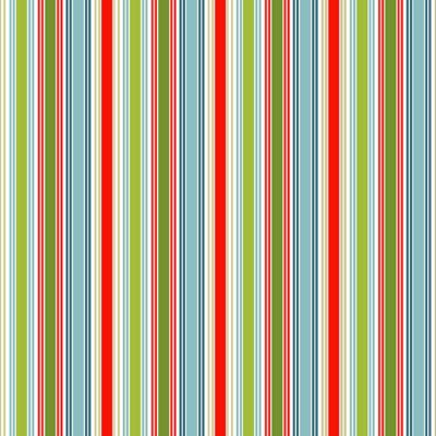 Makower - Joy - Deck Stripe Multi