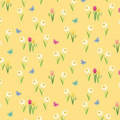 Makower - Spring - Meadow Yellow