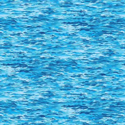 Makower - Landscapes - Sea Blue