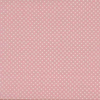 Makower Spot On Baby Pink Cut Length