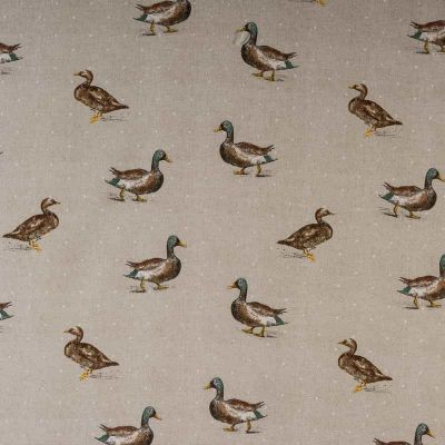 Porter & Stone - Burghley Novelties - Mallard - Curtain Fabric
