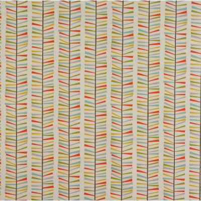 Malmo - Multi - Curtain Fabric