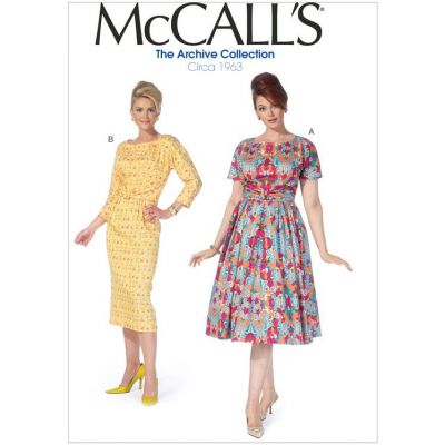 Remnant -McCalls Sewing Pattern M7086 - RR - (18W-20W-22W-24W) - End of Line