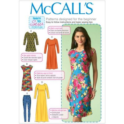 Remnant - Mccalls Pattern - 7122 - size Y- size Xsm-Sml-Med  -  End of Line