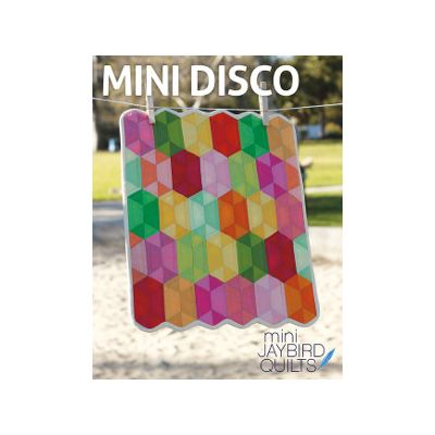 Jaybird Quilt Patterns - Mini Disco Quilt Pattern