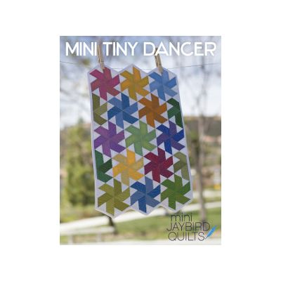 Jaybird Quilt Patterns - Mini Tiny Dancer Quilt Pattern