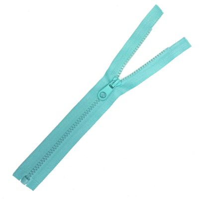 Chunky Open Ended Zips - Mint - 10 Inches Up to 36 Inches