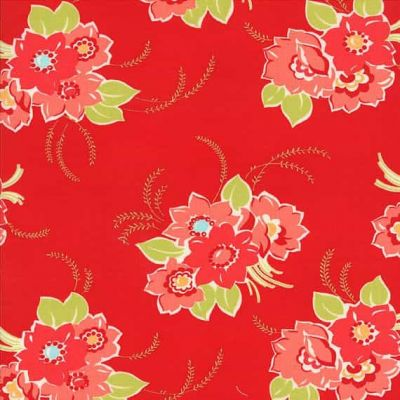 Moda - Miss Kate - Blossom In Red