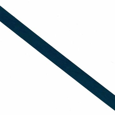Navy Leatherette Flat Bias Binding