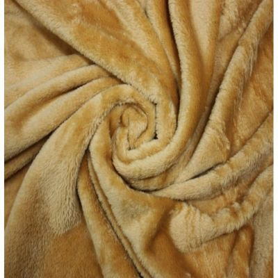 Double Sided Cuddle Fleece - Mustard