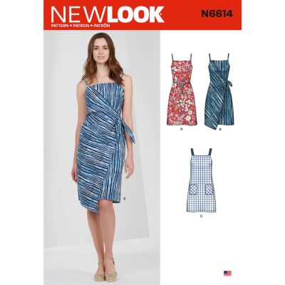 New Look Sewing Pattern 6614 - Misses Dresses