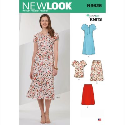 New Look Sewing Pattern 6626 - Misses Sportswear