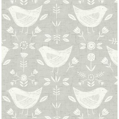 Narvik - Grey - Curtain Fabric
