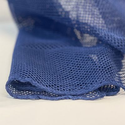 Navy Mesh Fabric - Strong Light Weight Mesh For Bags And Crafts