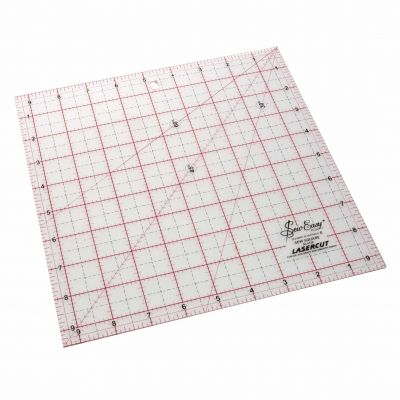 "Sew Easy Patchwork Square Ruler : 9.5"" x 9.5"""