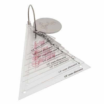 Sew Easy Patchwork Template Set Mini Triangles: 8 Sizes: 0.75'' - 3''