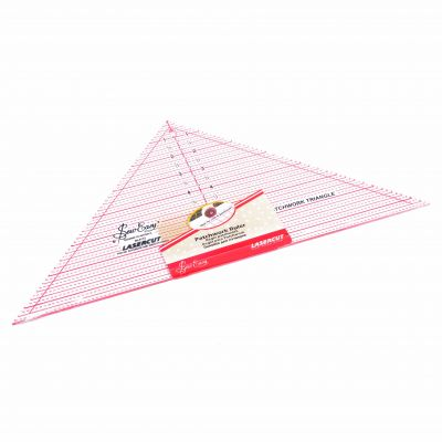"""Sew Easy Patchwork Quilt Template 90 Degree Triangle 7.5"""" x 15.5"""""""