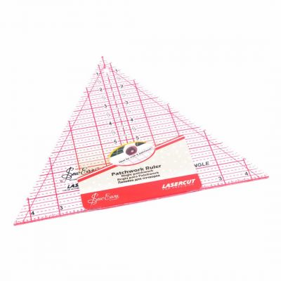 """Sew Easy Patchwork Quilt Template 60 Degree Triangle 8"""" x 9.25"""""""