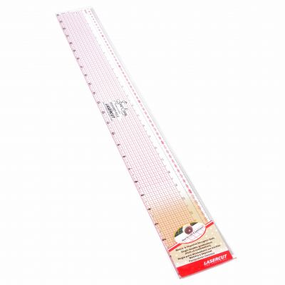Sew Easy Patchwork Quilting Designer Ruler 24""