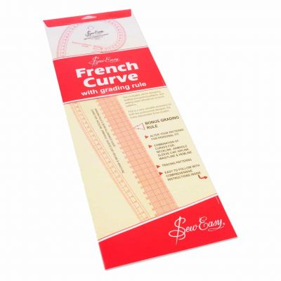 Sew Easy Metric French Curve For Dressmaking