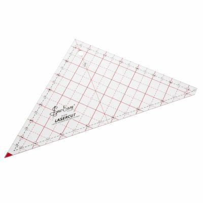 """Sew Easy Patchwork Quilt Template 90 Degree Triangle 7.5"""""""