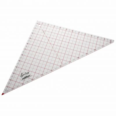 Sew Easy Patchwork Quilt Template 90 Degree Triangle 12.5""