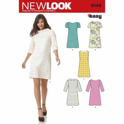 New Look Sewing Pattern 6145 Misses' Dress