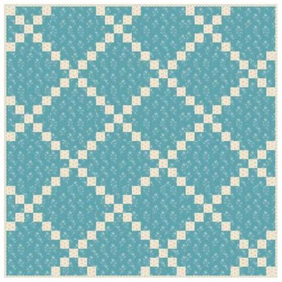 Andover - Royal Blue - Norway - Quilt Pattern - Free Instant Download