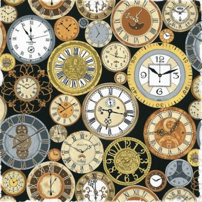 Nutex - Victorian Vintage - Clocks