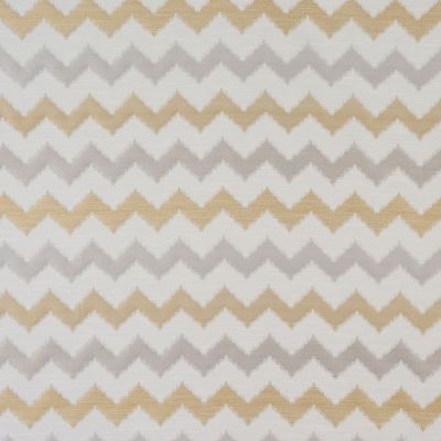 Verne - Ochre - Curtain Fabric