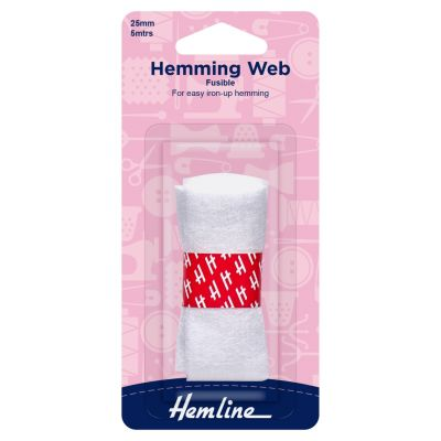Hemline Hemming Web - Fusible - 5m x 25mm