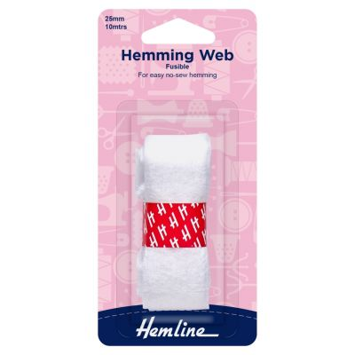 Hemline Hemming Web - Fusible - 10m x 25mm