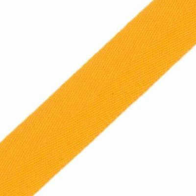 38mm Acrylic Herringbone Webbing Orange