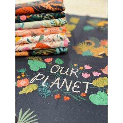 Dashwood Studio  - Our Planet - Fat Quarter Bundle - 7 Fabrics