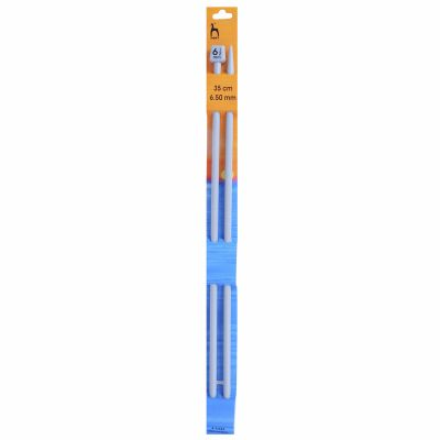 Pony Classic Pair Of Single Ended Knitting Pins - 35cm x 6.5mm