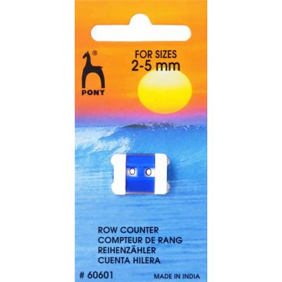 Pony Row Counter - Small 2mm - 5mm
