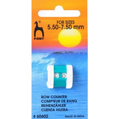 Pony Row Counter - Large 5.5mm - 7.5mm