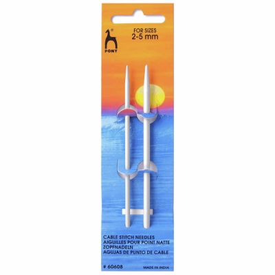 Pony Cable Stitch Needle Small: 2.00mm - 5.00mm