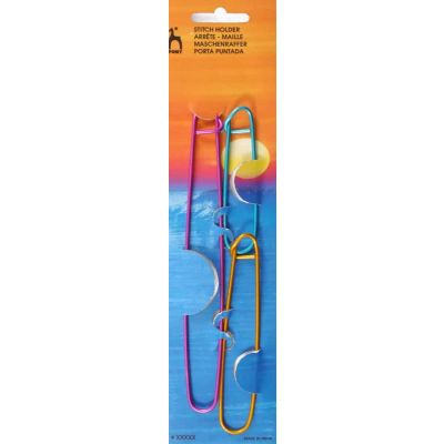 Pony Stitch Holders - 3 Assorted Sizes & Multicoloured
