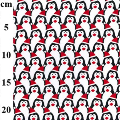 Polycotton - Packed Penguins