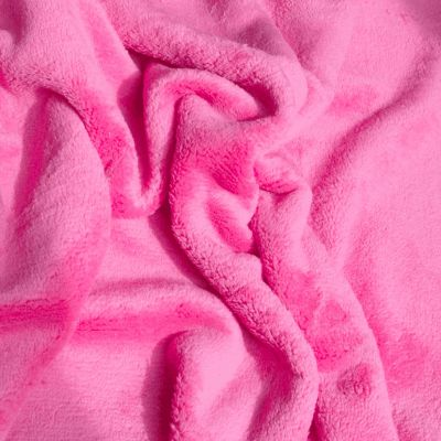 Double Sided Cuddle Fleece - Cerise