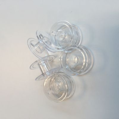 Sewing Machine Plastic Bobbins 66K - 5 Pack