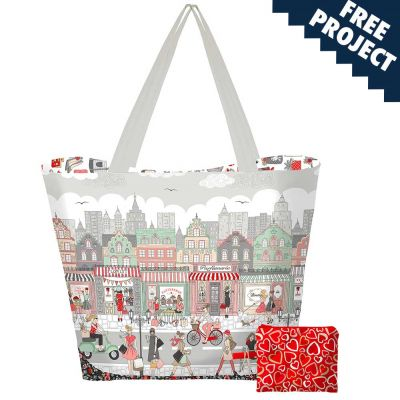 Makower - Pamper - Bag And Pouch Pattern - Free Instant Download