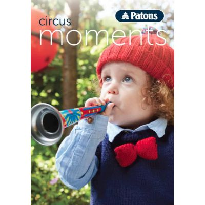 Patons Pattern Book - Circus Moments - Baby Knitting Patterns