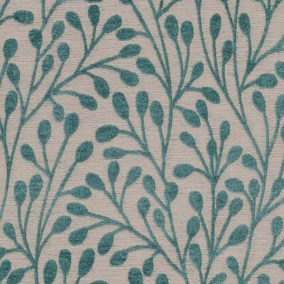 Porter & Stone - Pimlico - Teal - Curtain Fabric