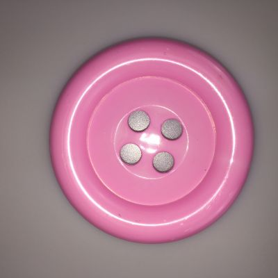 Pink Extra Large Clown Buttons Size 80L - 51mm