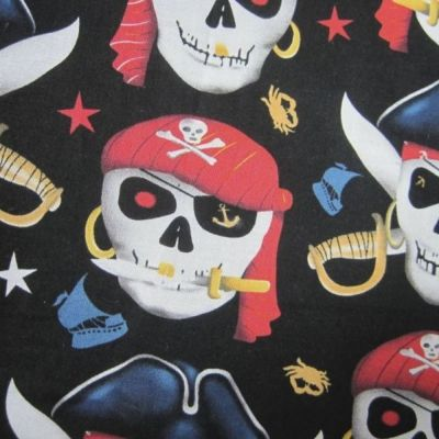Cotton Fabric - Pirates