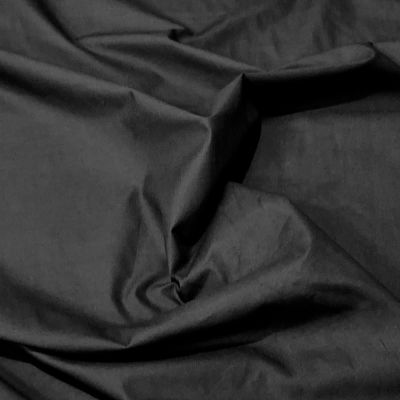 "Polycotton Sheeting - 240cm/96"" Wide - Black"