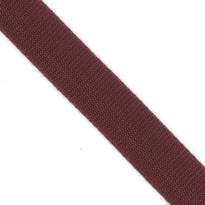 Polypropylene Webbing Burgundy 25mm