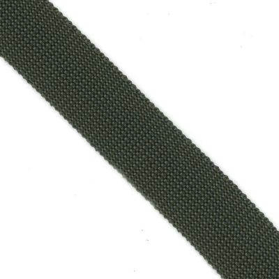 Polypropylene Webbing 25mm Wide - Bottle Green